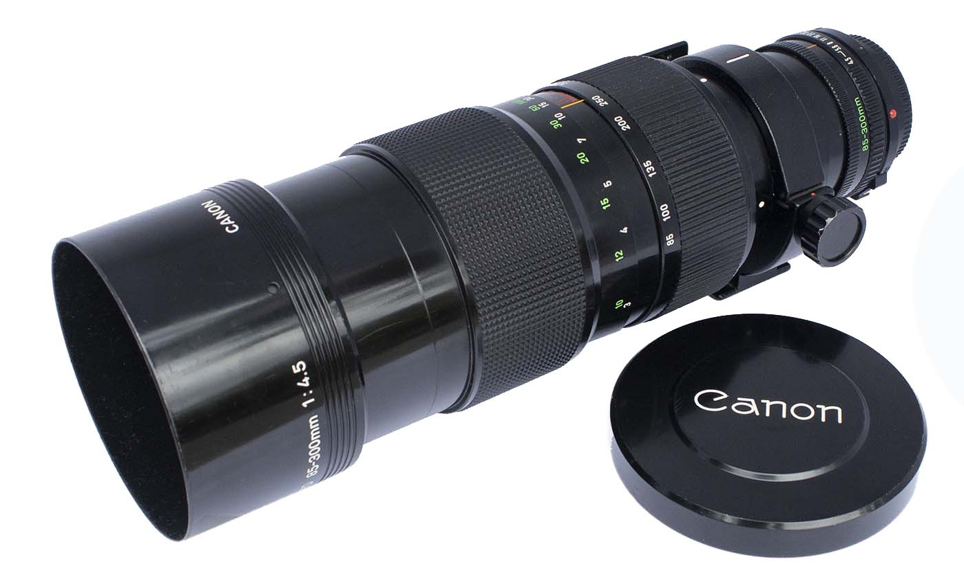 Canon FDn 85-300mm f/4.5 mm lens