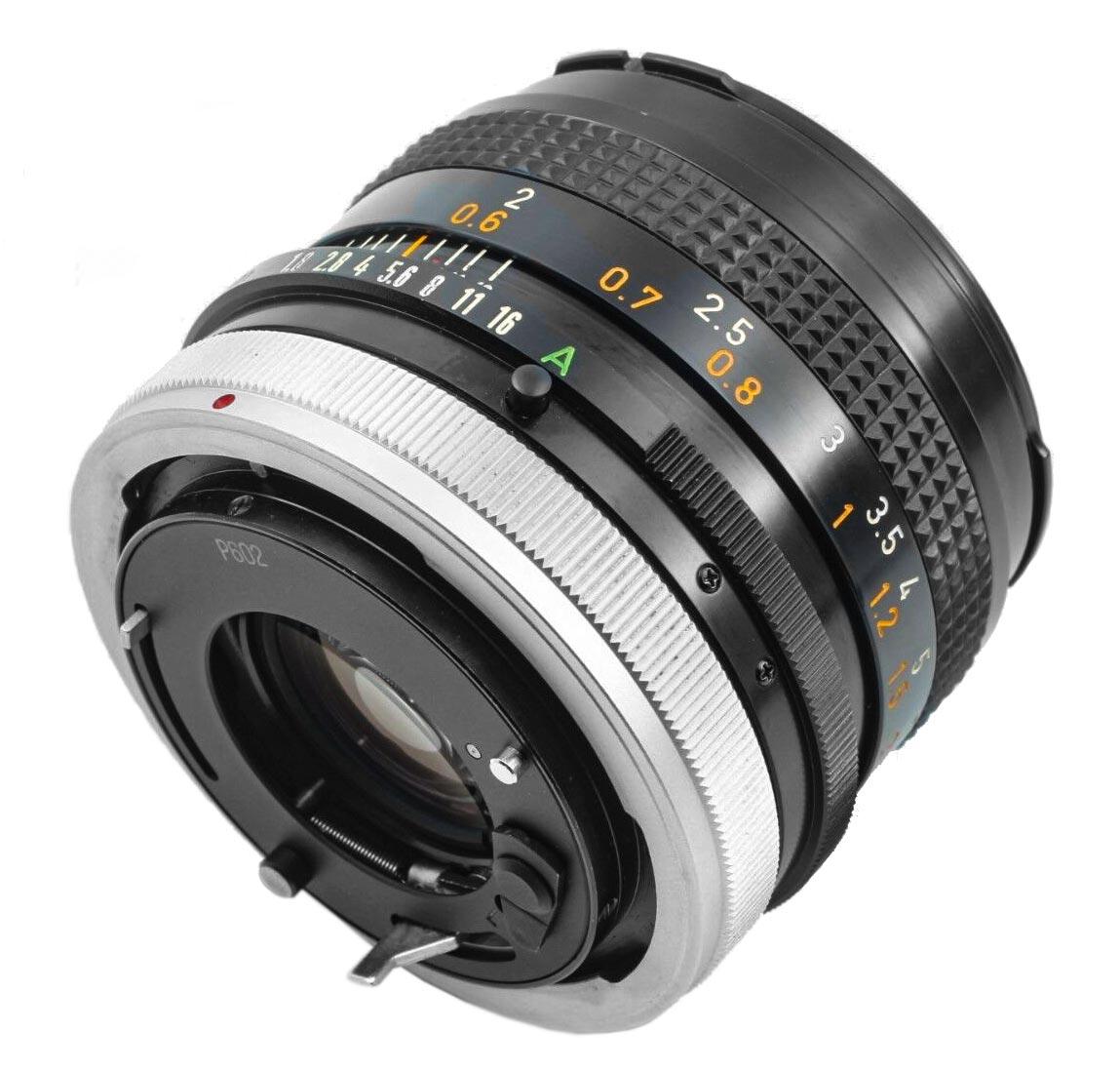 Canon FD 50mm f/1.8 (II)