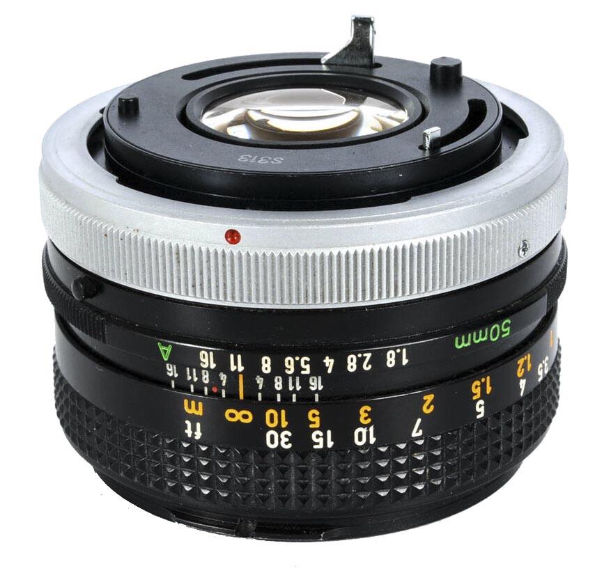 Canon FD 50mm f/1.8