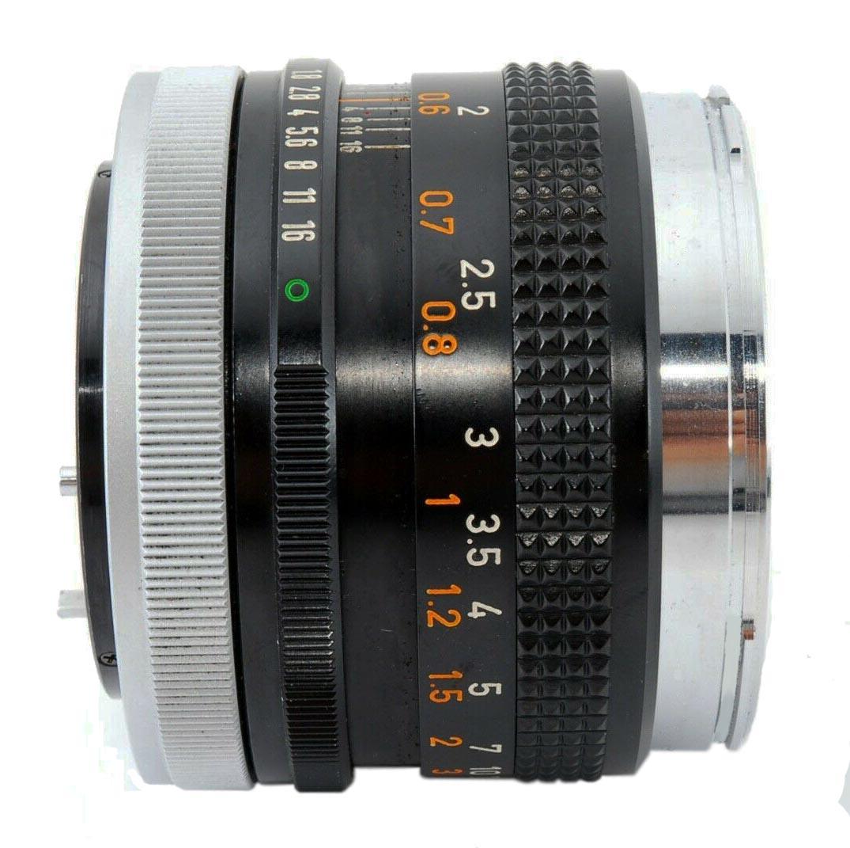 Canon FD 50mm f/1.8 (i)