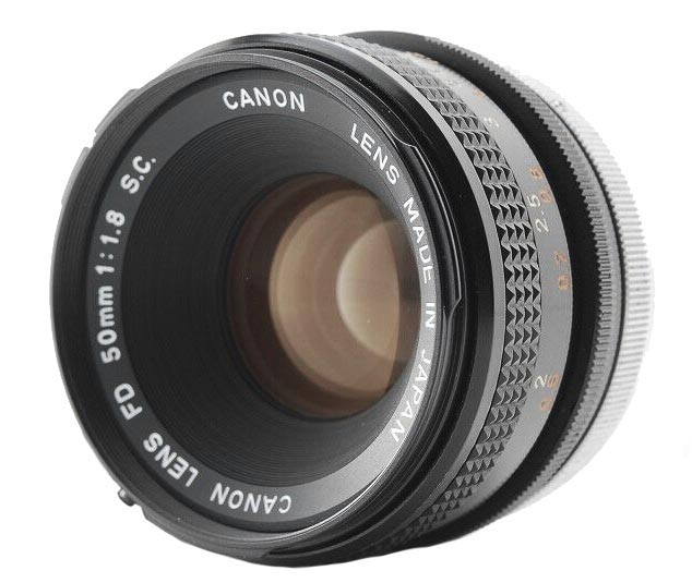 Canon FD 50mm f/1.8 S.C. (I)