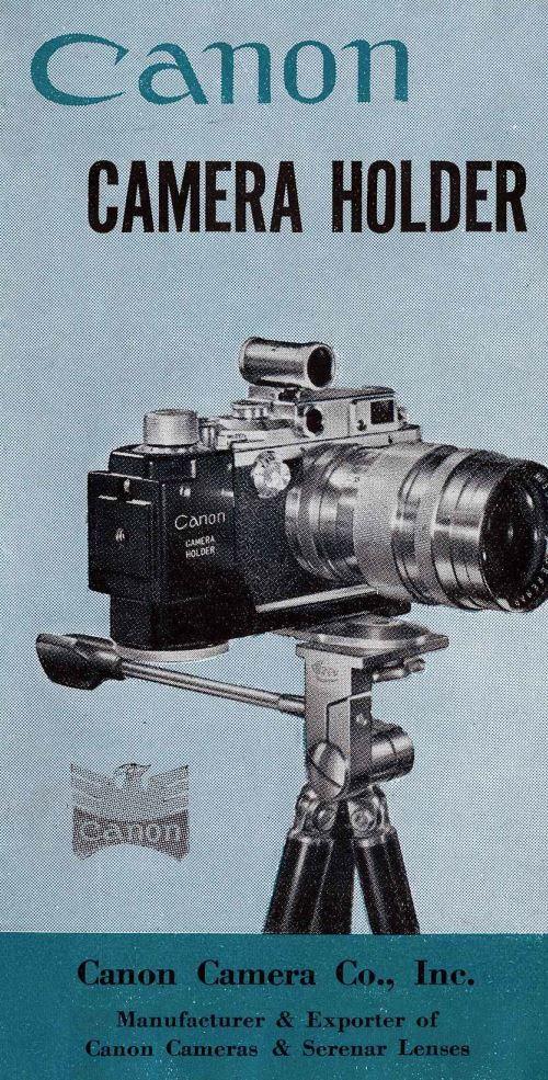 Canon Camera Holder Manual