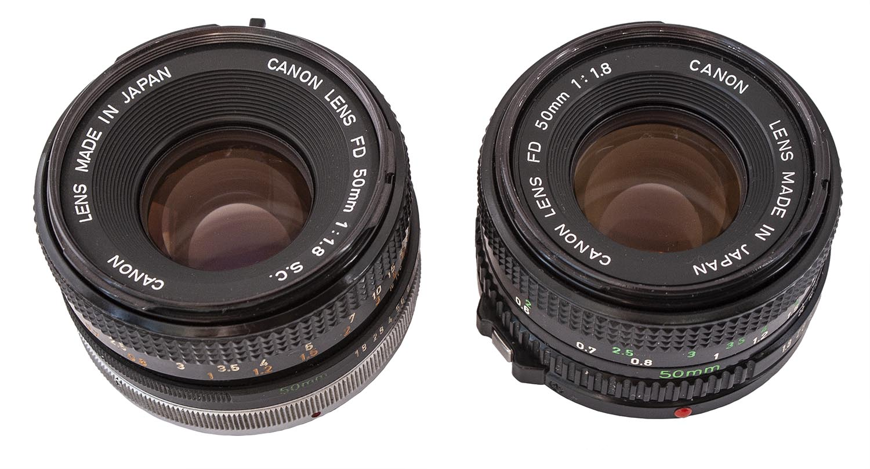 Canon FDn 50mm f/1.8 Lens