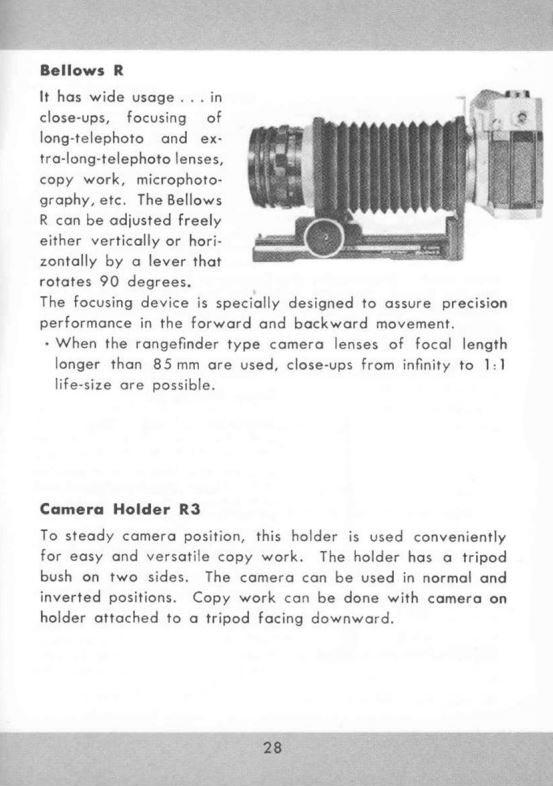 Canon Camera Holder R3
