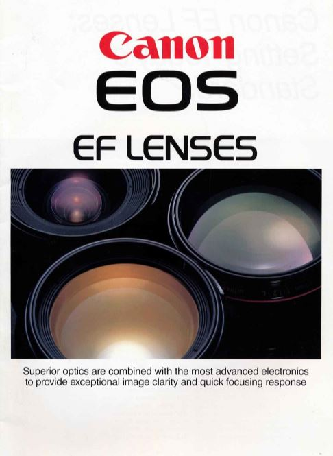 Canon EOS EF Lens Brochure