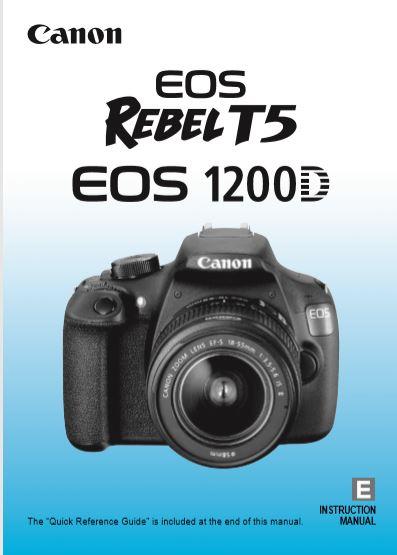 Rebel T5 User Manual