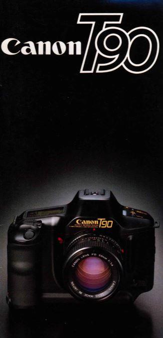 Canon T-90 Brochure