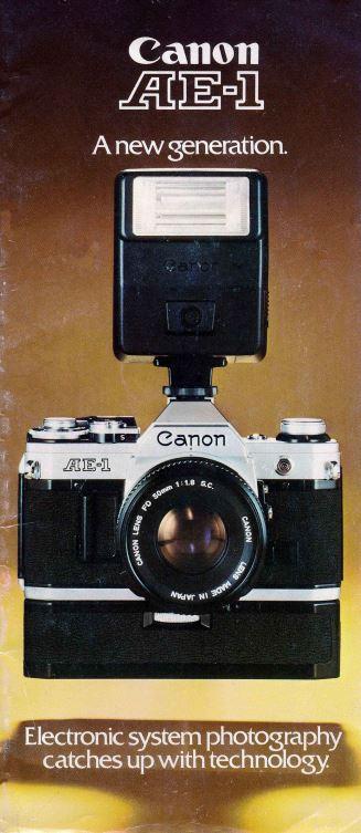 Canon SLR Brochure