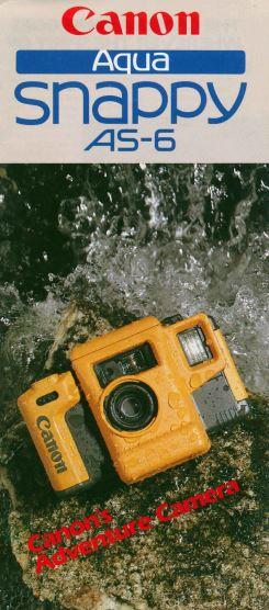 Canon Aqua Snappy AS-6 Brochure