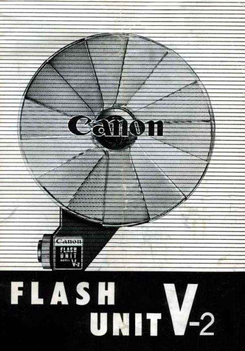 Canon Flash V-2 User Manual