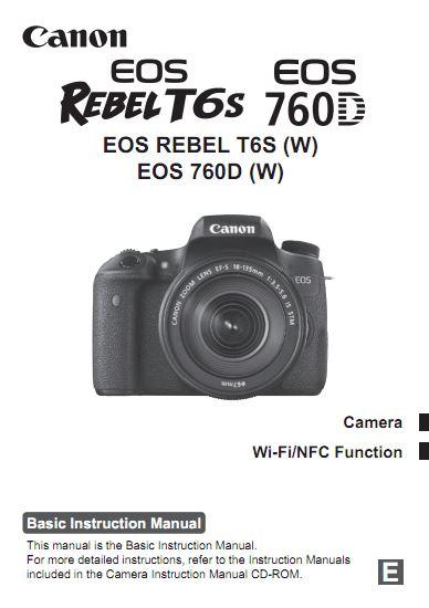 Rebel T6S User Manual