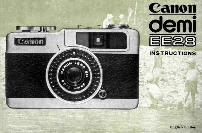 Manual for Canon Demi EE28