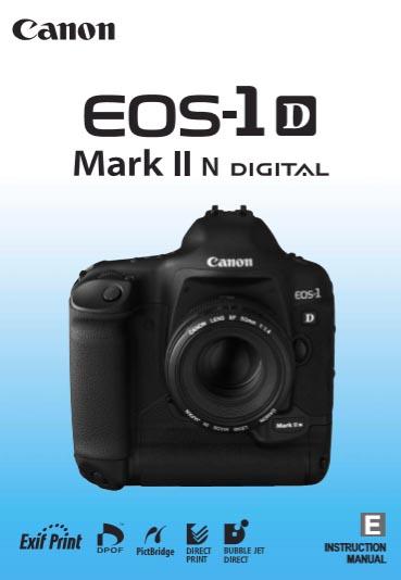 EOS 1D Mk IIN Manual