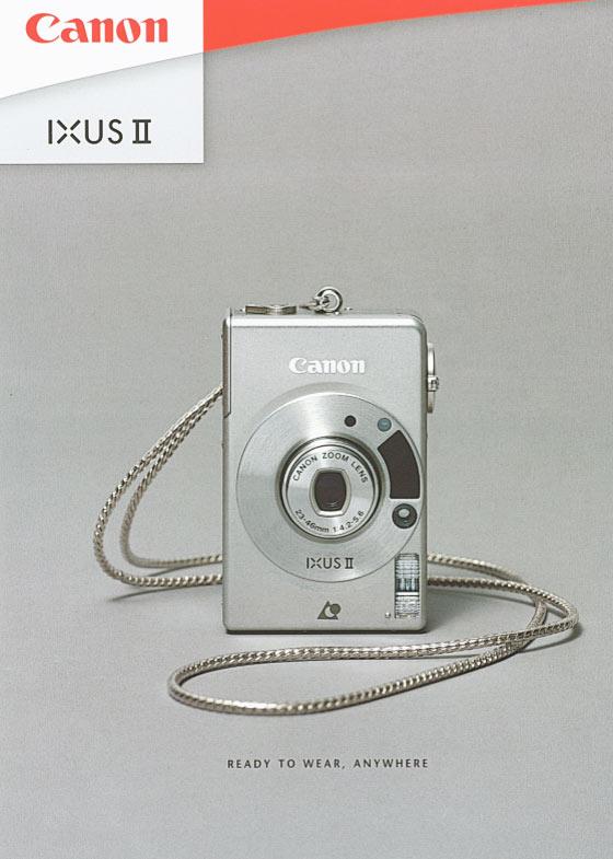 Canon Ixus II Brochure