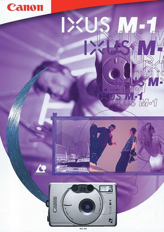 Canon Ixus M-1 Brochure