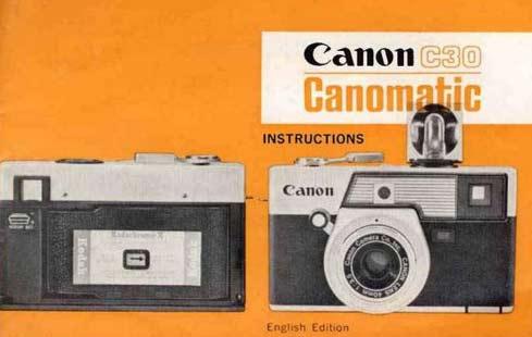Canomatic C30 User Manual