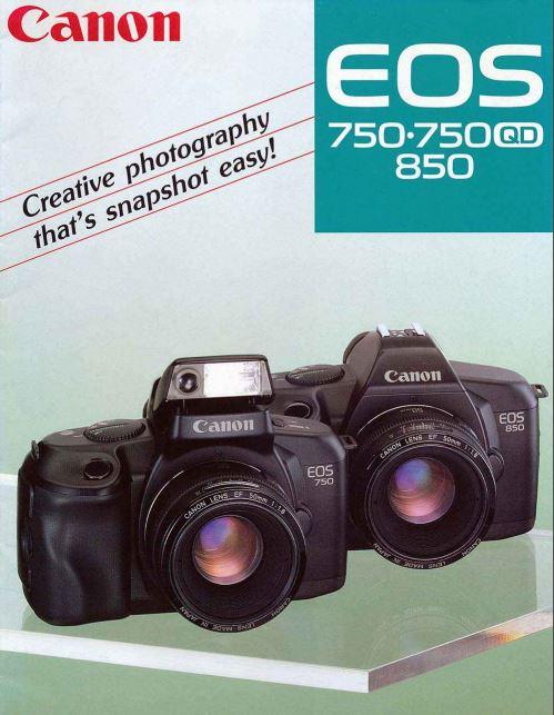 Canon EOS 750 Brochure