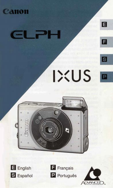 Canon Elph User Manual