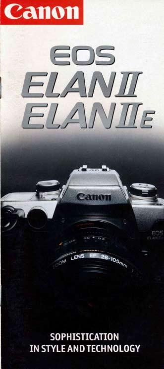 Canon EOS Elan II Brochure