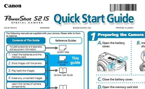 Powershot S2 IS User Manual