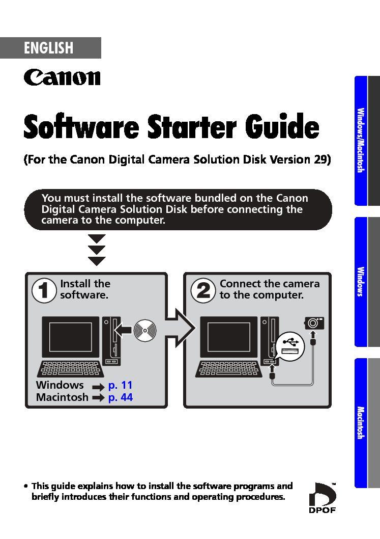 Canon Direct Printer User Guide