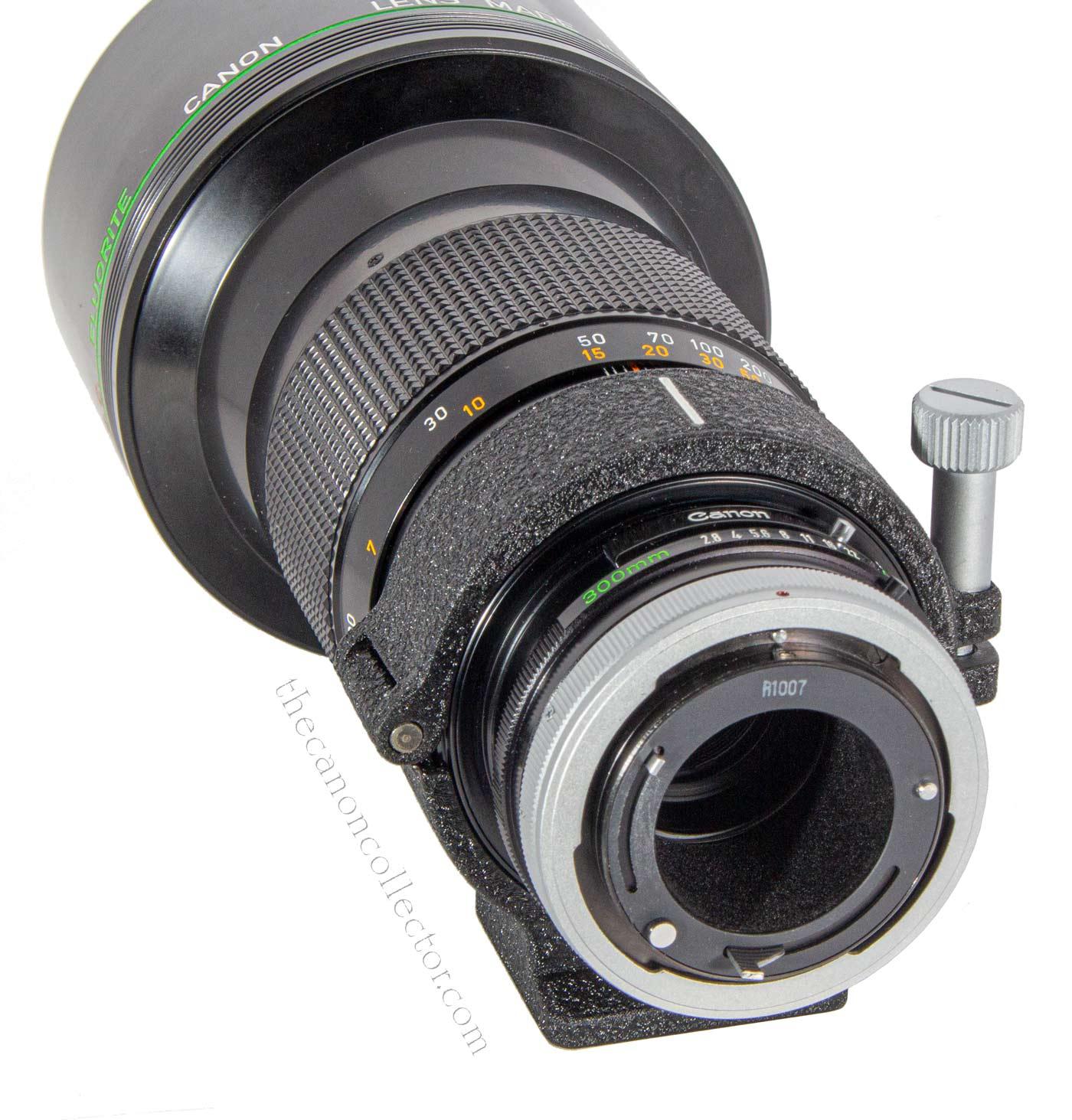 Canon FD 300mm f/2.8 S.S.C. Fluorite Lens