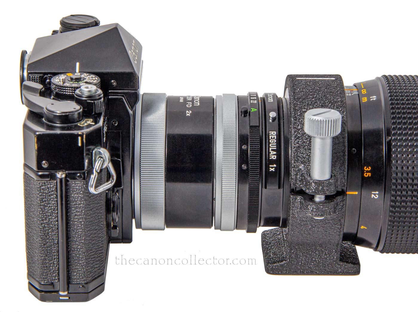 Canon FD 300mm f/2.8 S.S.C. Florite Lens
