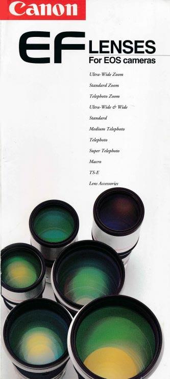 Canon EF Lens Brochure