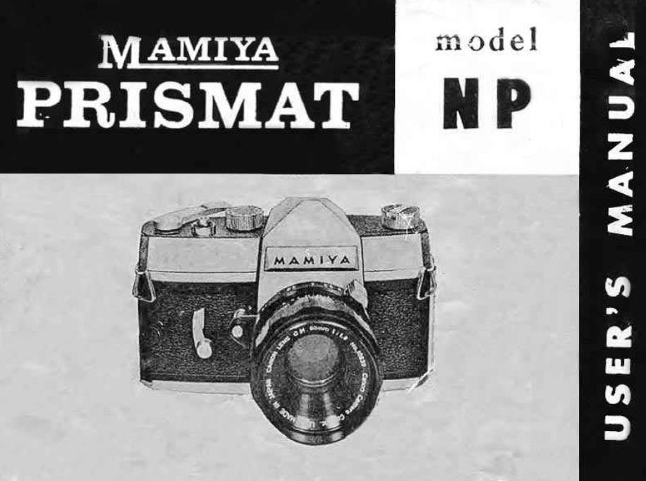 Mamiya Prismat User Manual