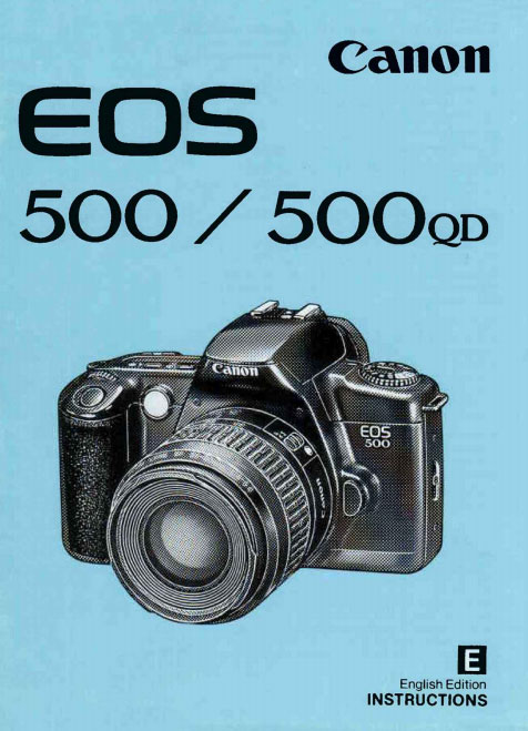 EOS 500 Instructions