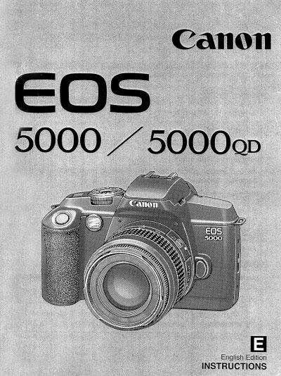 Canon EOS 50 User Manual