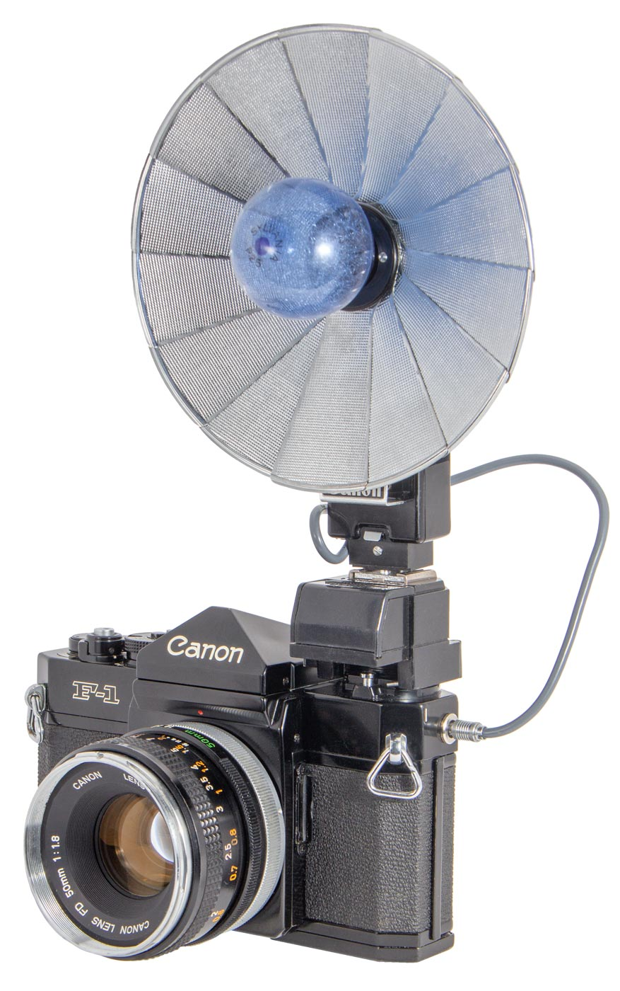 Canon F1 Flash Coupler