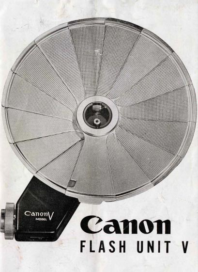 Canon Flash Unit V Manual
