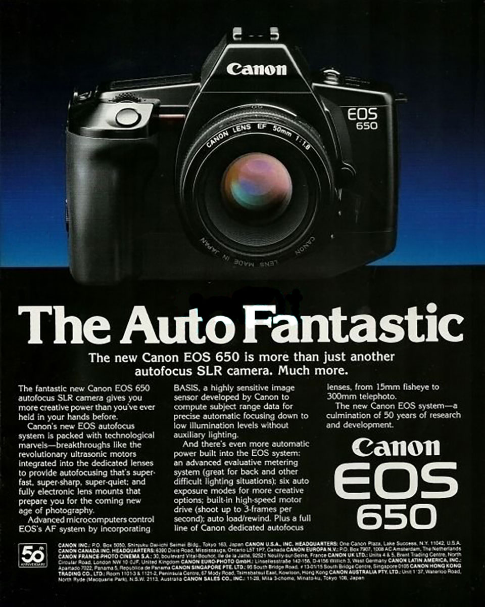 Canon 650 Ad