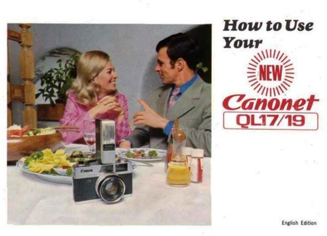 Canon Canonet QL17/19 Manual
