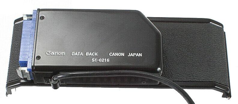Canon Data Back S1-0216