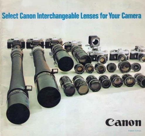 Canon EF Zoom Lens Brochure