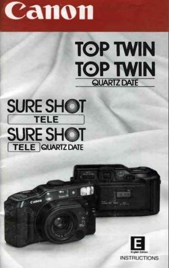 Canon Sure Shot Tele Instructions