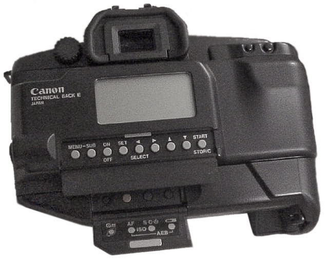Canon Technical Back E