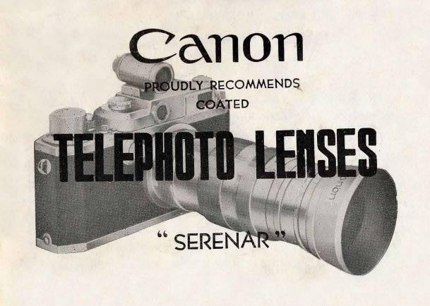 Canon Serenar Telephoto Lenses