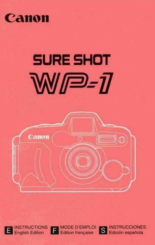 Sure Shot WP-1 Manual