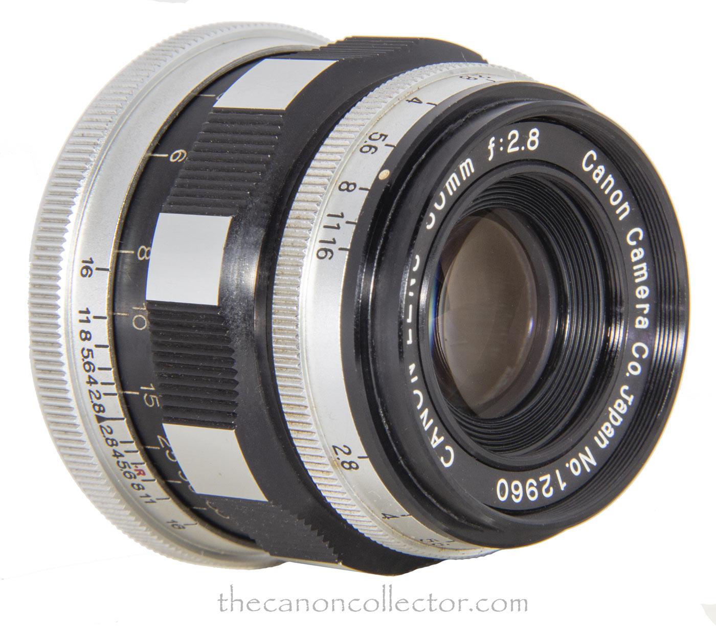 Canon Lens 50mm f/2.8 (I)